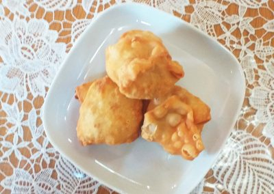 Tyropitoudja (Lemnian Mini Cheese Pies)