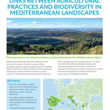 Links Between Agricultural Practices and Biodiversity in Mediterranean Landscapes