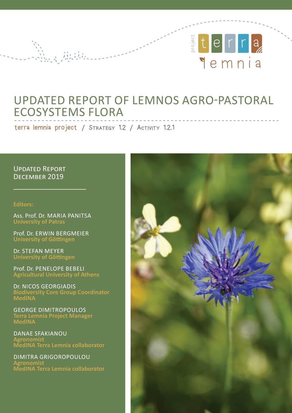 Report of Lemnos Agro-Pastoral Ecosystems Flora