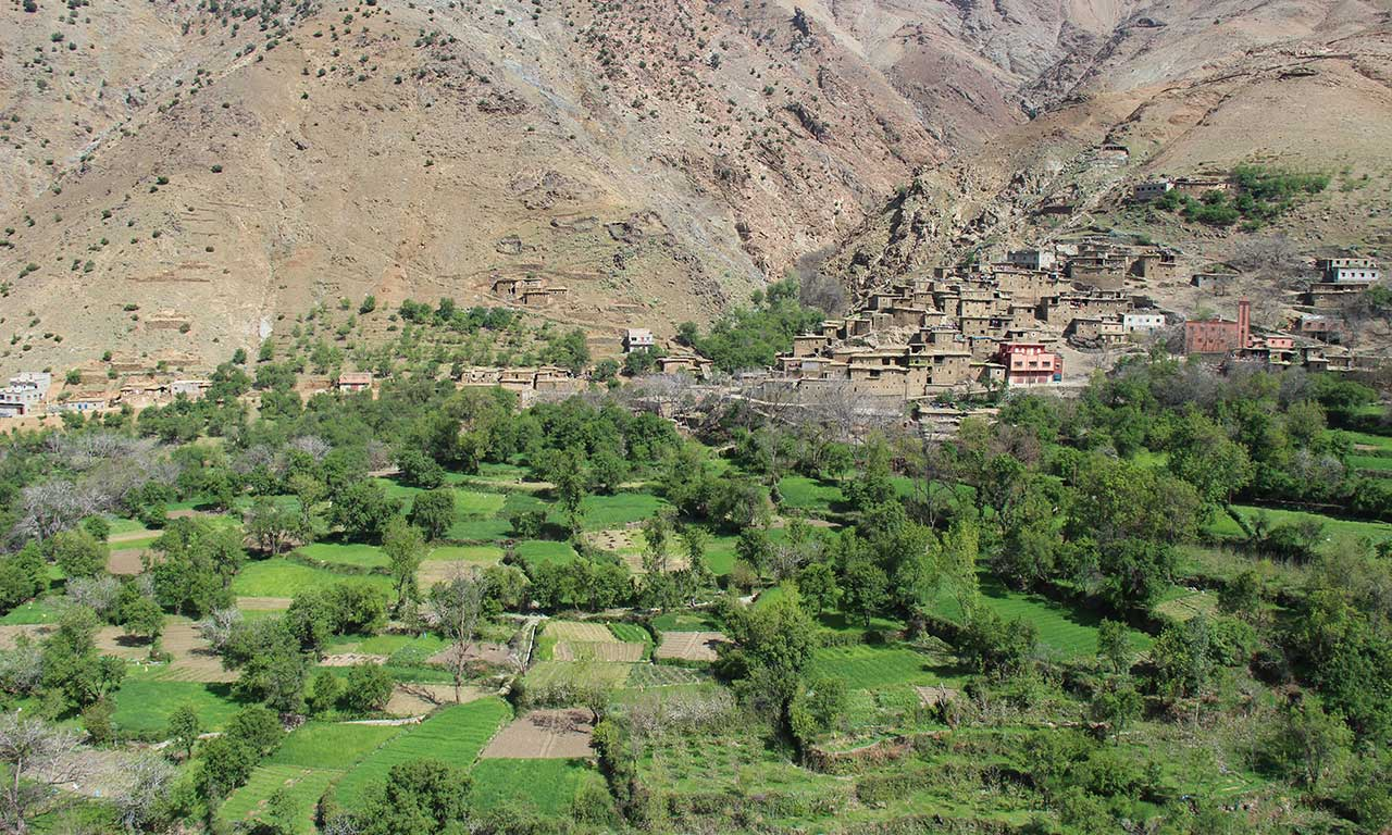 Maintaining cultural landscapes for biodiversity and wellbeing in the Moroccan High Atlas | Alliance for Mediterranean Nature & Culture (AMNC)